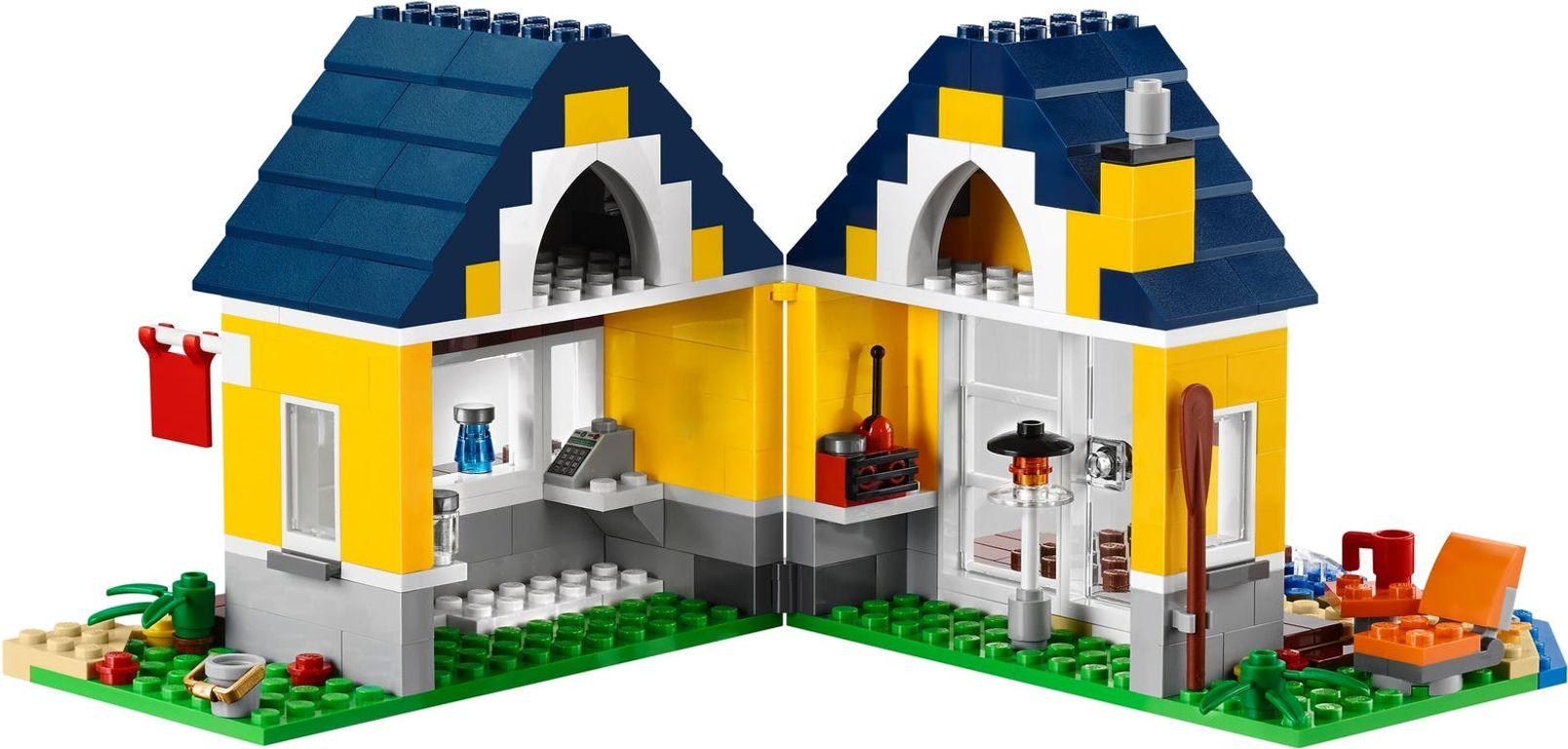 LEGO® Creator Beach Hut interior