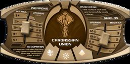 Star Trek: Ascendancy - Cardassian Union components
