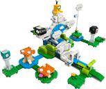 LEGO® Super Mario™ Lakitu Sky World Expansion Set components