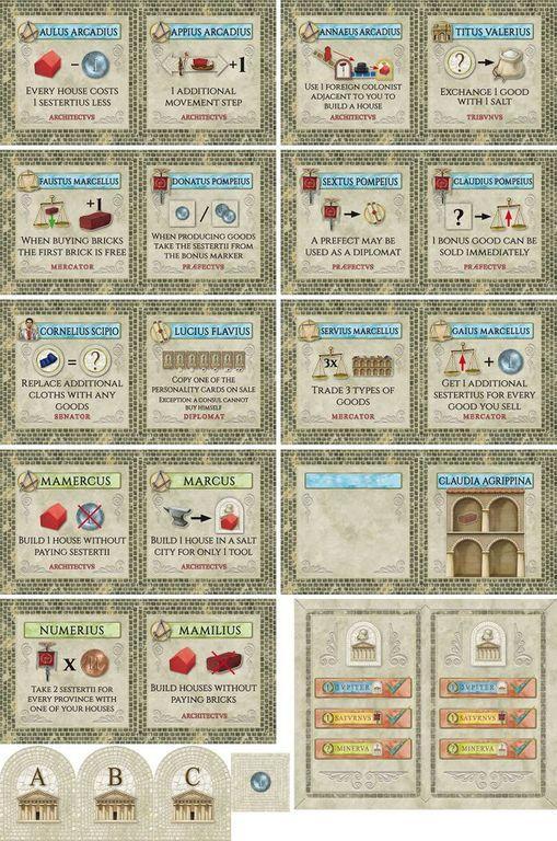 Concordia: Salsa cards