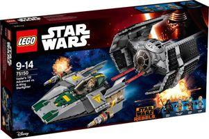 LEGO® Star Wars Vader's TIE Advanced vs. A-Wing Starfighter