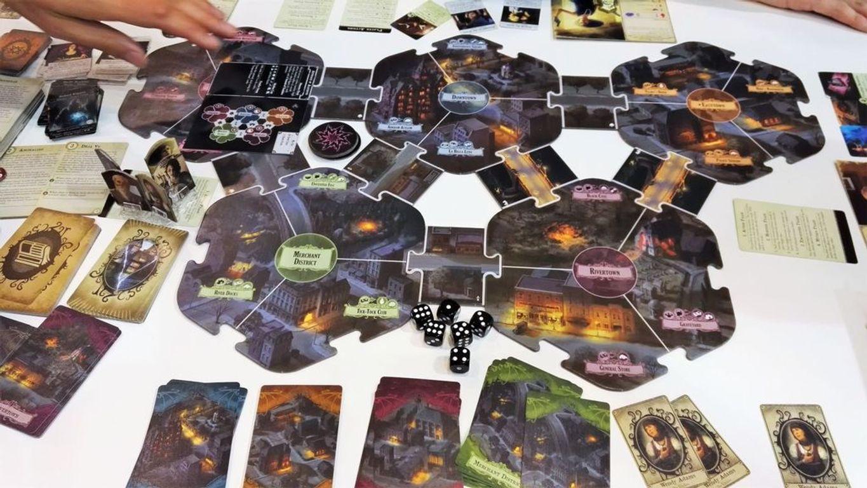 Arkham Horror 3rd Edition gameplay