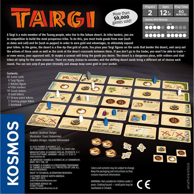 Targi back of the box