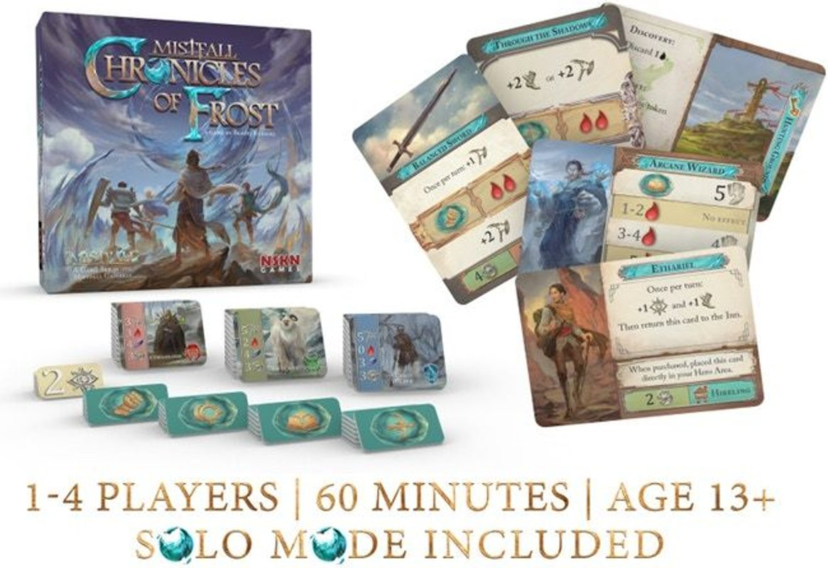 Chronicles of Frost components