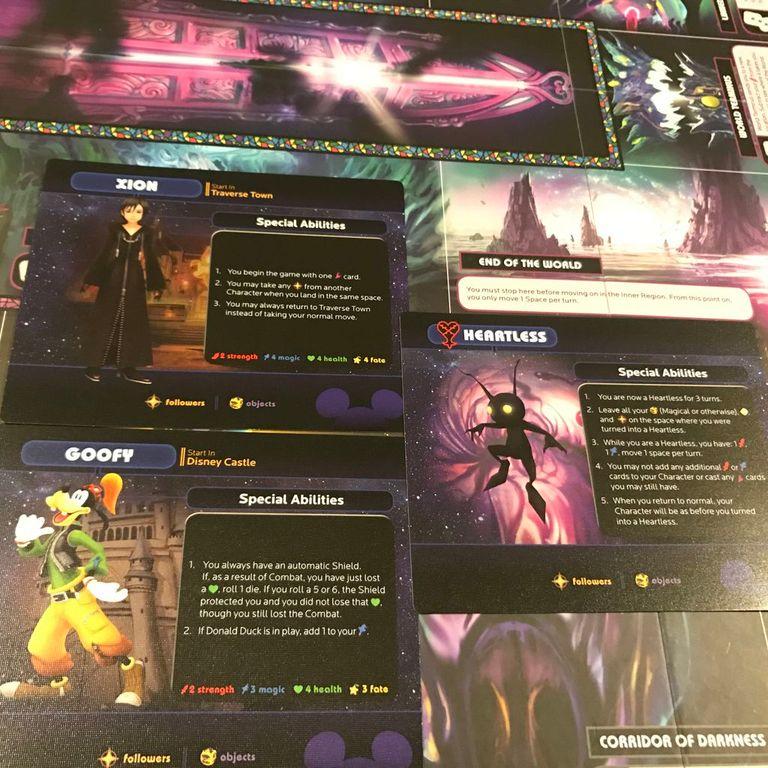 Talisman: Kingdom Hearts cards
