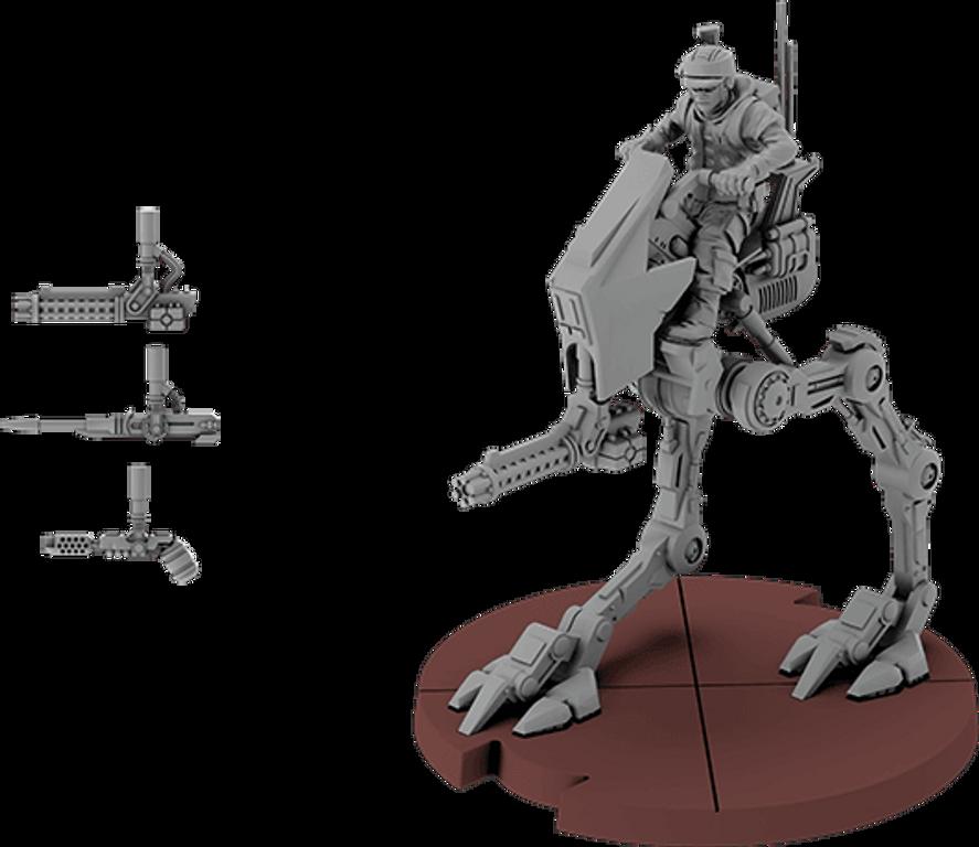 Star Wars: Legion - AT-RT Unit Expansion miniature