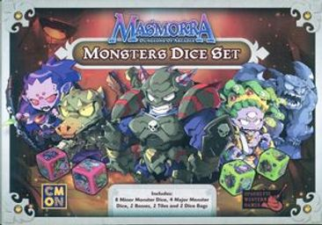 Masmorra: Dungeons of Arcadia - Monsters Dice Set