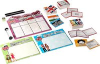The Big Bang Theory: Ultimate Genius Party Game components