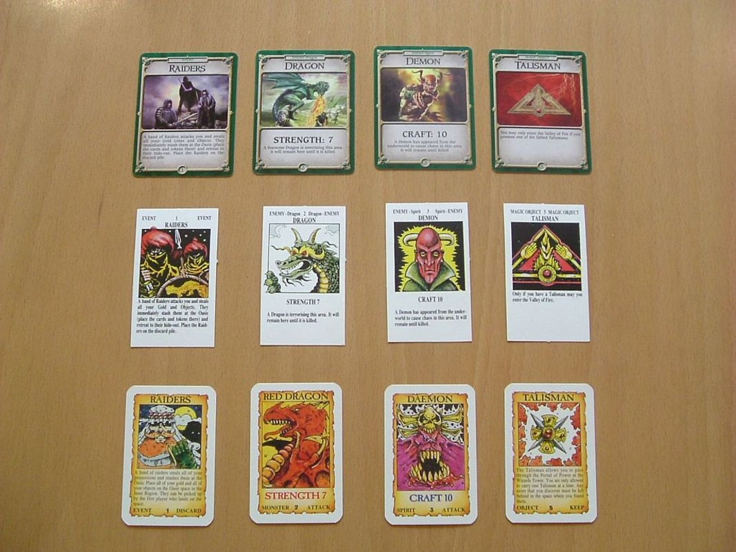 Talisman (Revised 4th Edition) cards
