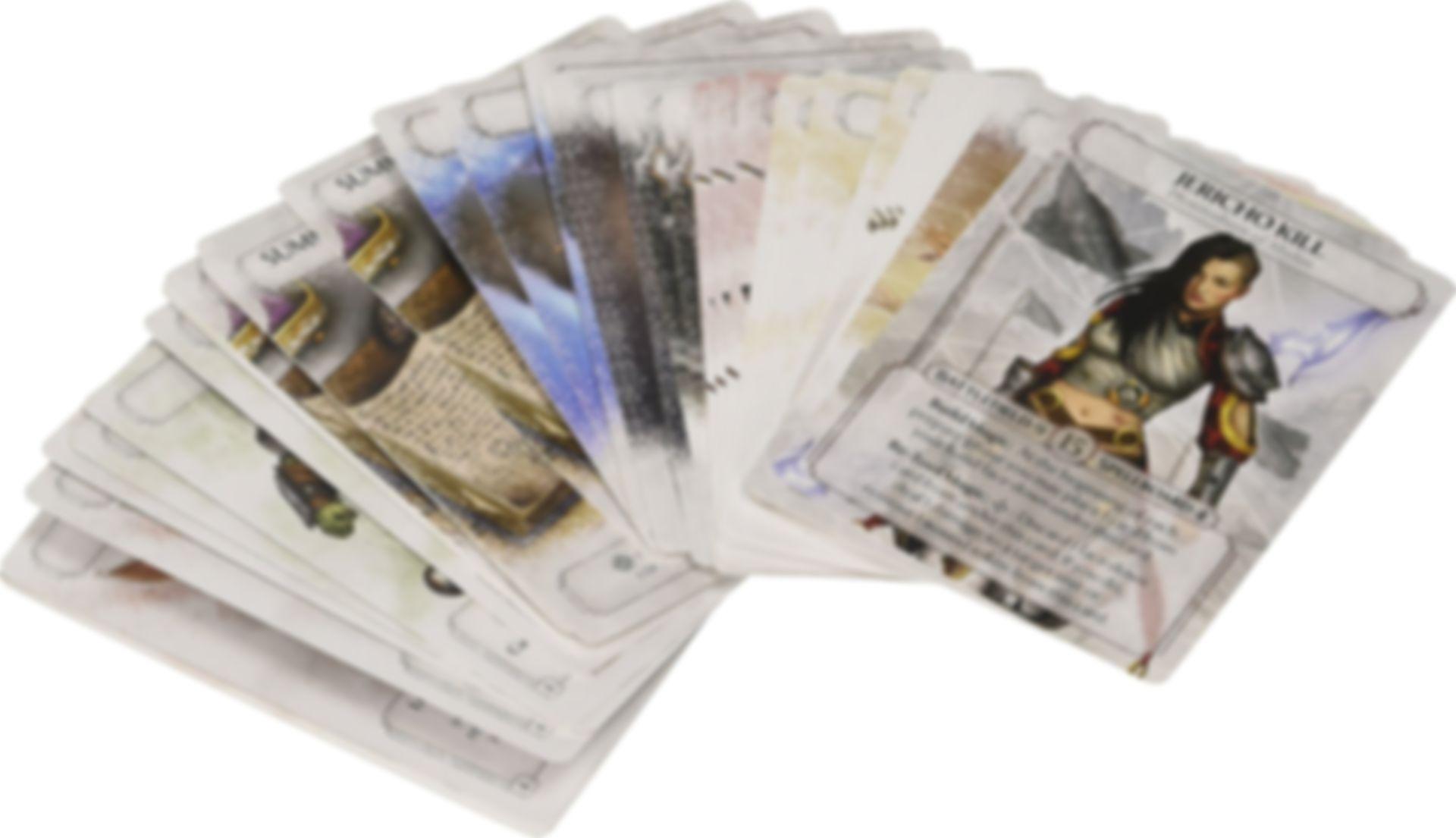 Ashes: The Path of Assassins cards