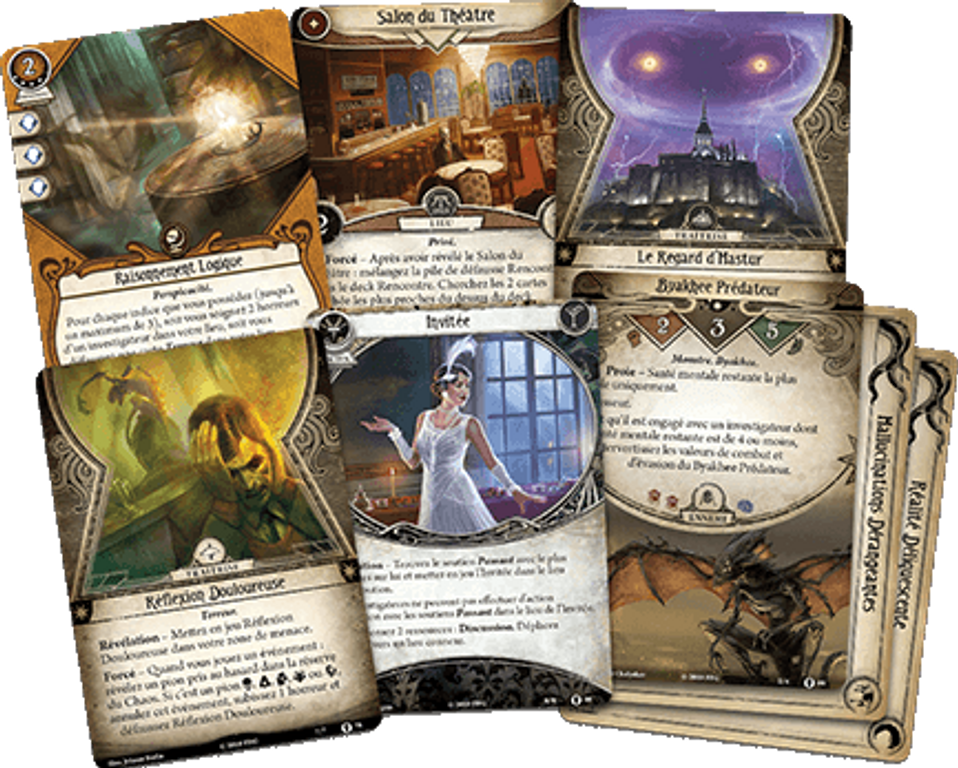 Arkham Horror: The Card Game - Return to the Path to Carcosa cards