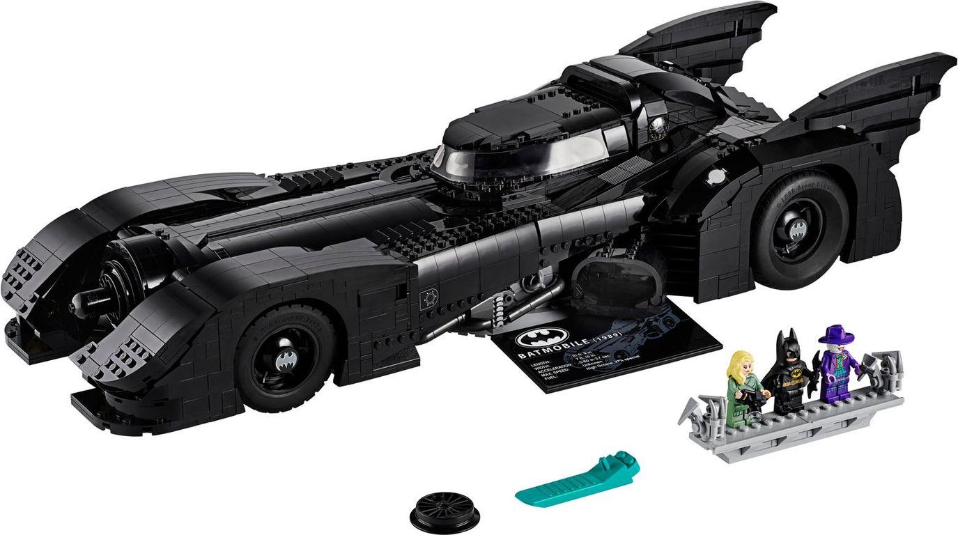 LEGO® DC Superheroes 1989 Batmobile™ components
