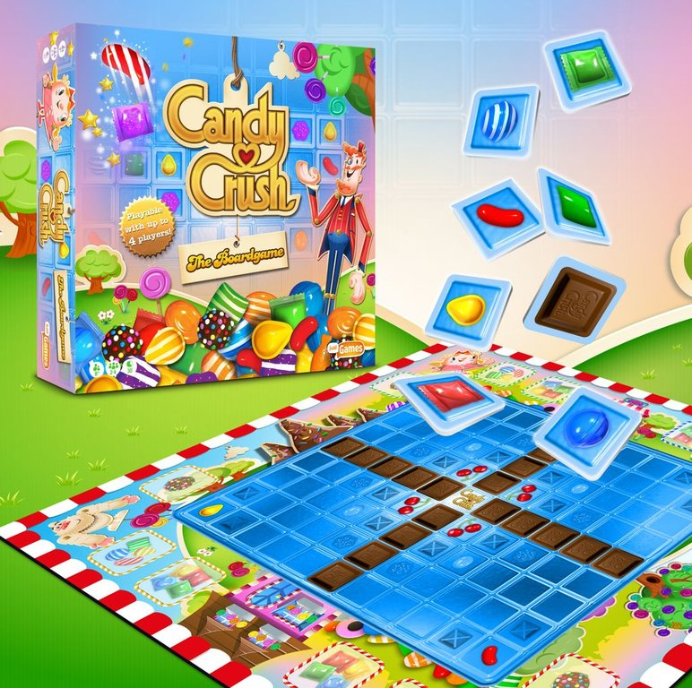 Candy Crush: The Boardgame components