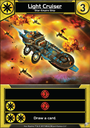 Star Realms: Frontiers Light Cruiser card