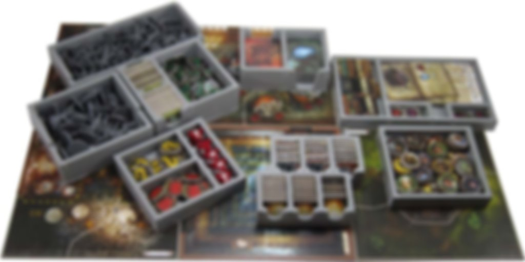 Mansions of Madness 2nd Edition insert components