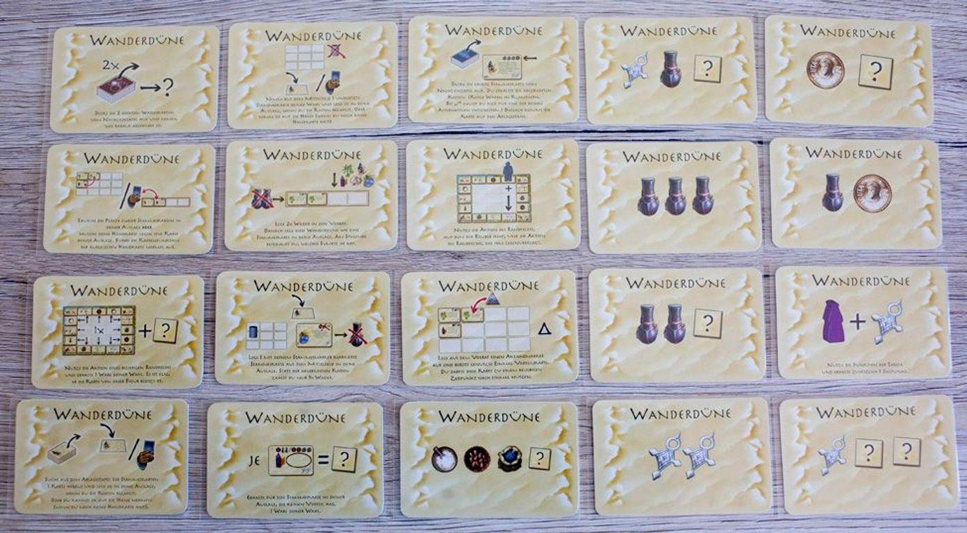 Targi: The Expansion cards