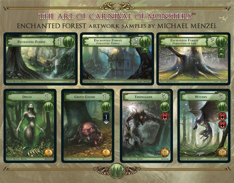 Carnival of Monsters cards