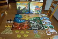 Lost Cities: The Board Game components