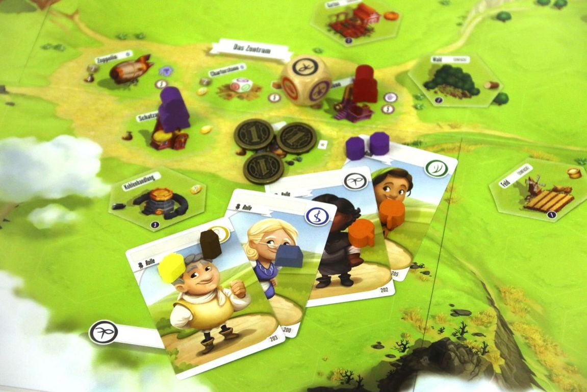 Charterstone components