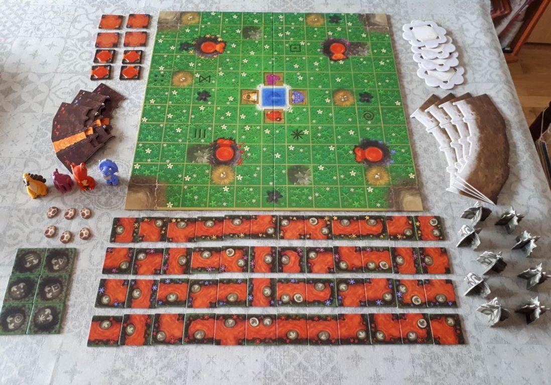 SOS Dino components