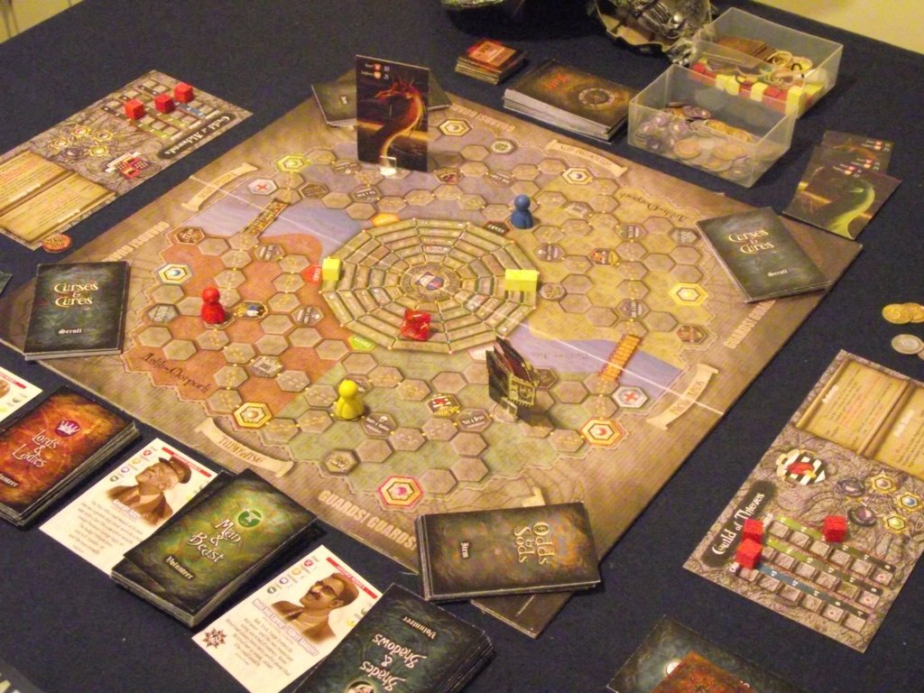 Guards! Guards! - A Discworld Boardgame gameplay