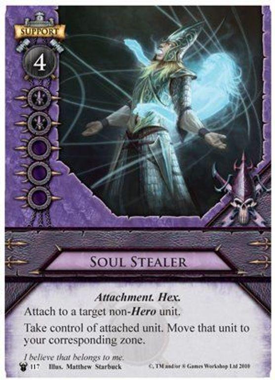 Warhammer: Invasion - Bleeding Sun Soul Stealer card