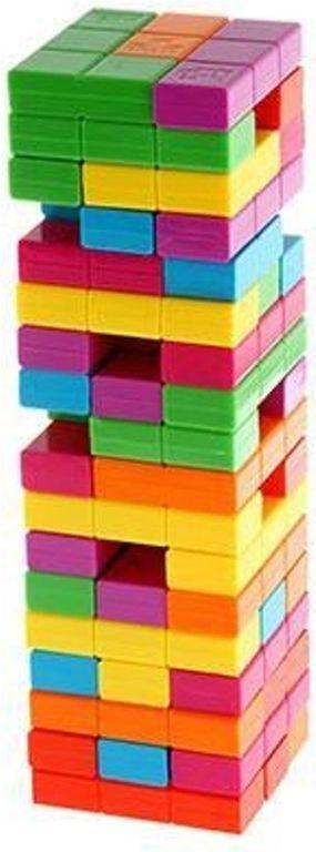 Jenga: Tetris components