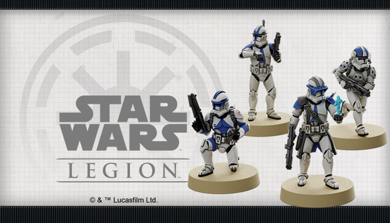 Star Wars: Legion – Republic Specialists Personnel Expansions miniatures