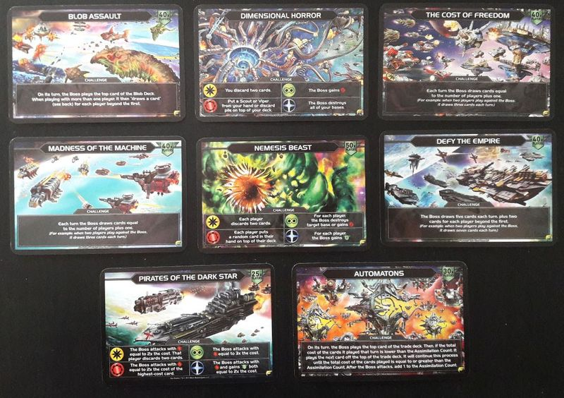 Star Realms: Frontiers cards