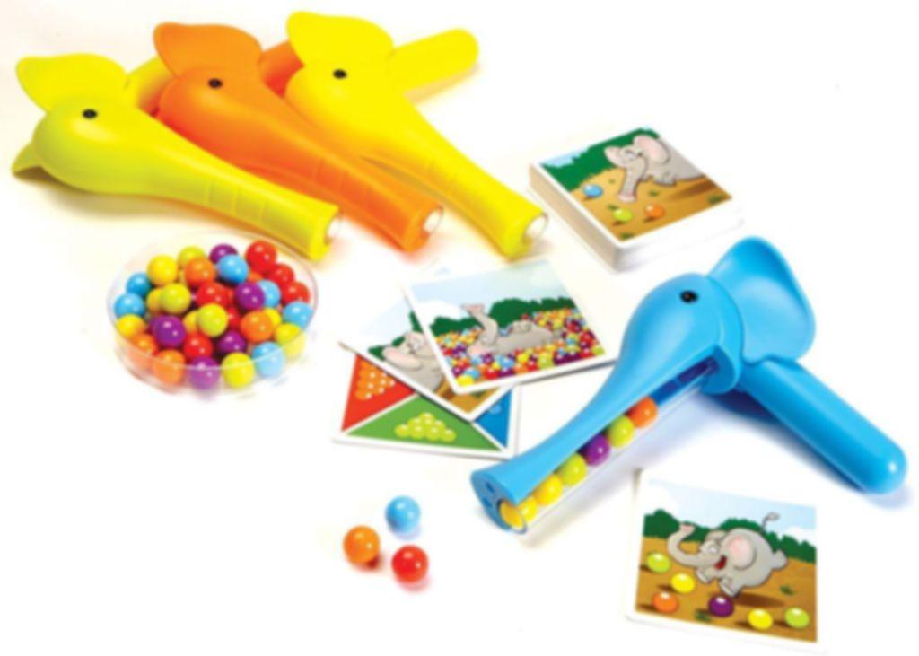 Bubble Jungle components
