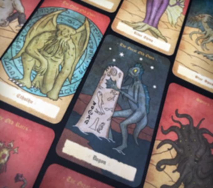 Cthulhu Crusades cards