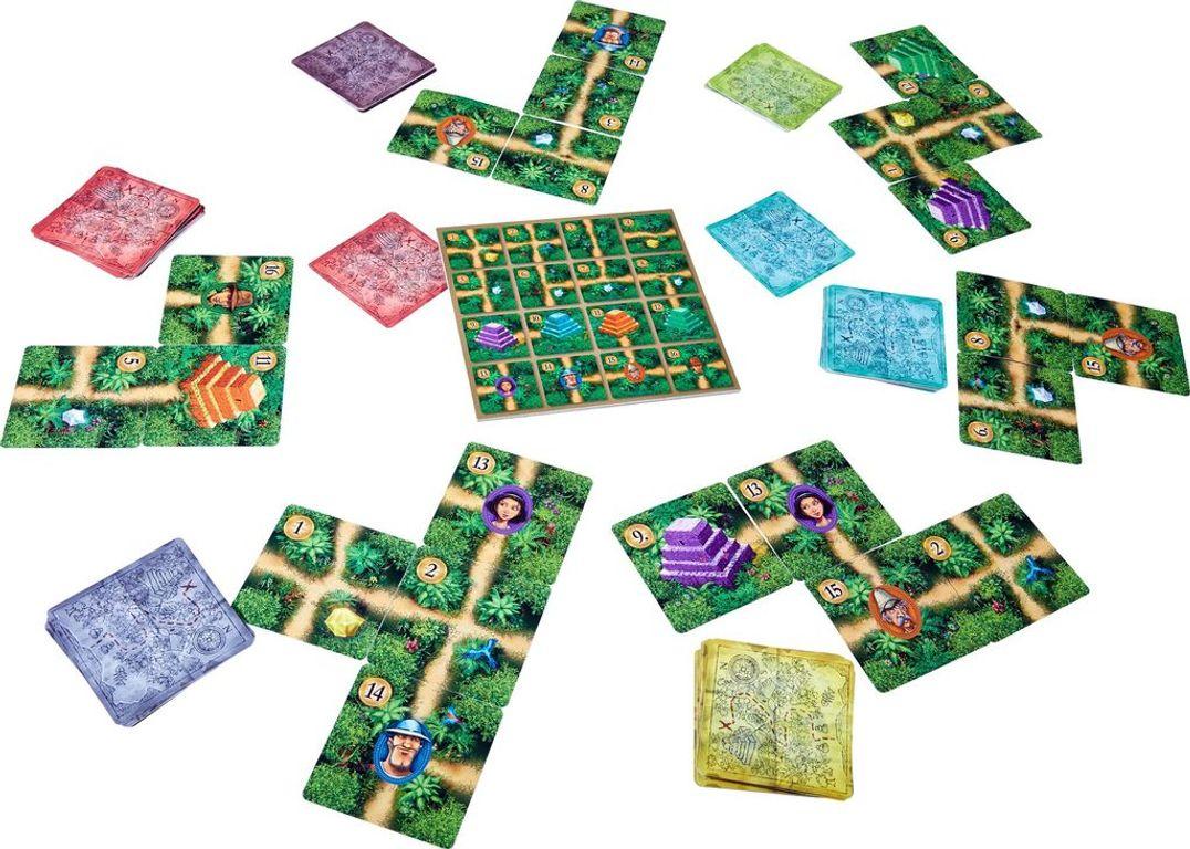 Karuba: The Card Game components