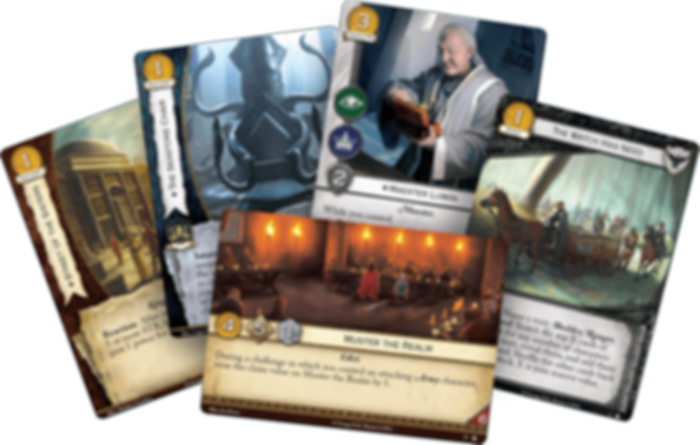 A Game of Thrones: The Card Game (Second edition) - Taking the Black cards