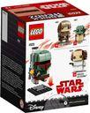 LEGO® BrickHeadz™ Boba Fett™ back of the box