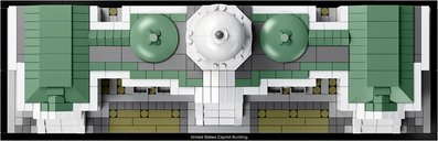 LEGO® Architecture United States Capitol Building components