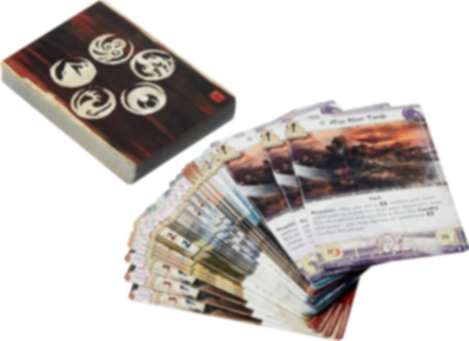 Legend of the Five Rings: The Card Game - Elements Unbound kaarten