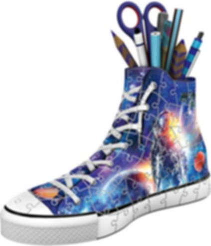 Sneaker Astronauts in Space components