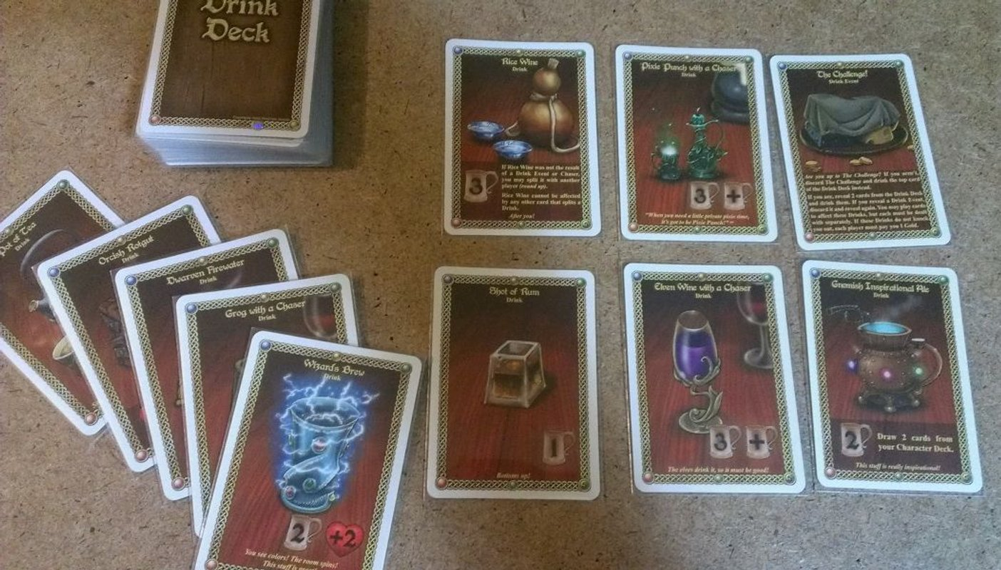 The Red Dragon Inn 5 cards