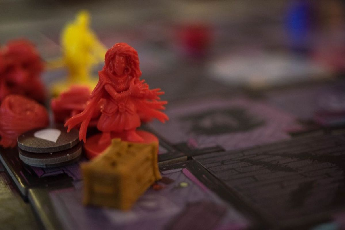 Vast: The Mysterious Manor components