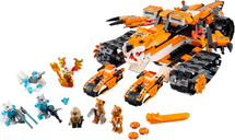 LEGO® Legends of Chima Tiger's Mobile Command components