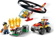 LEGO® City Fire Helicopter Response gameplay