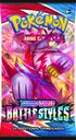 Pokemon TCG: Sword & Shield Battle Styles Blister Pack with 3 Booster Packs box