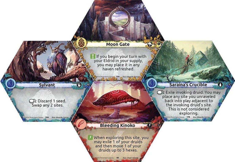 Lagoon: Land of Druids tiles