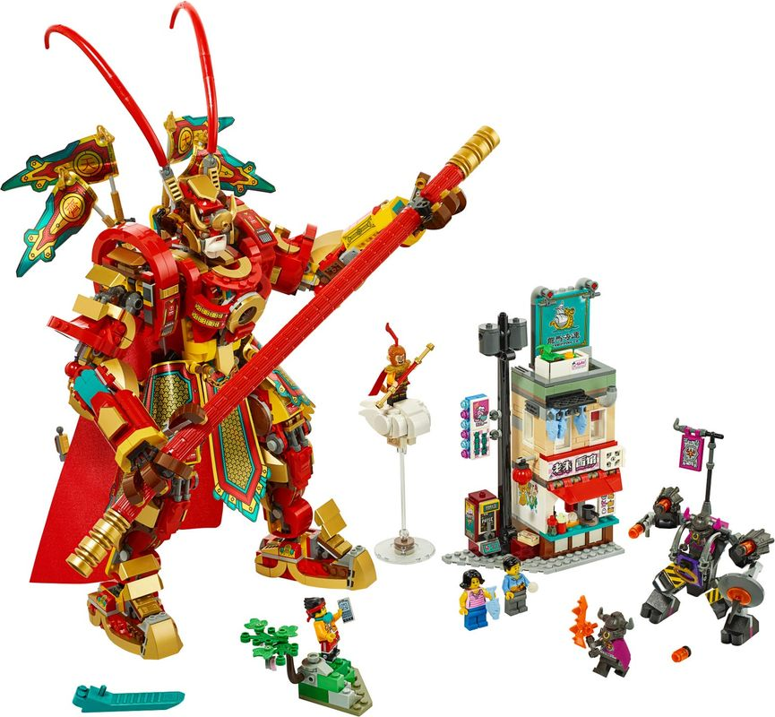 Monkey King Warrior Mech components