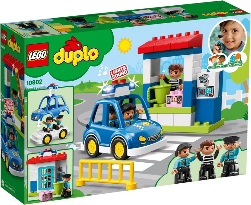 LEGO® DUPLO® Police Station back of the box
