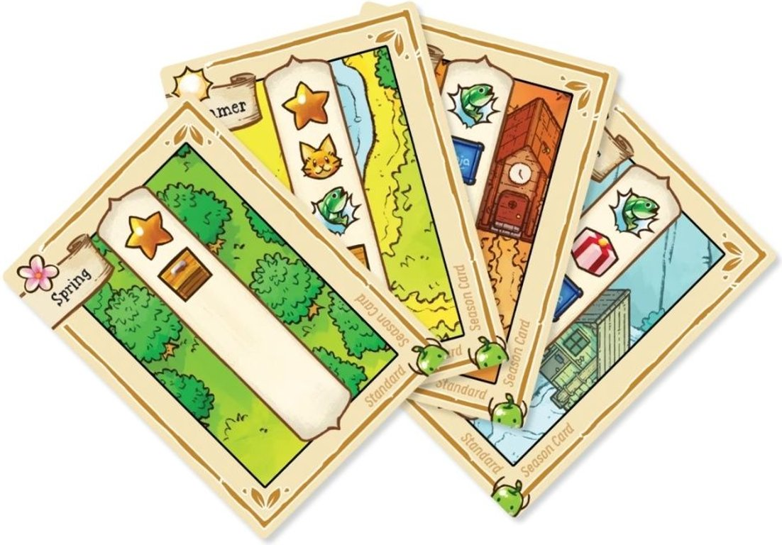 Stardew Valley: The Board Game cards