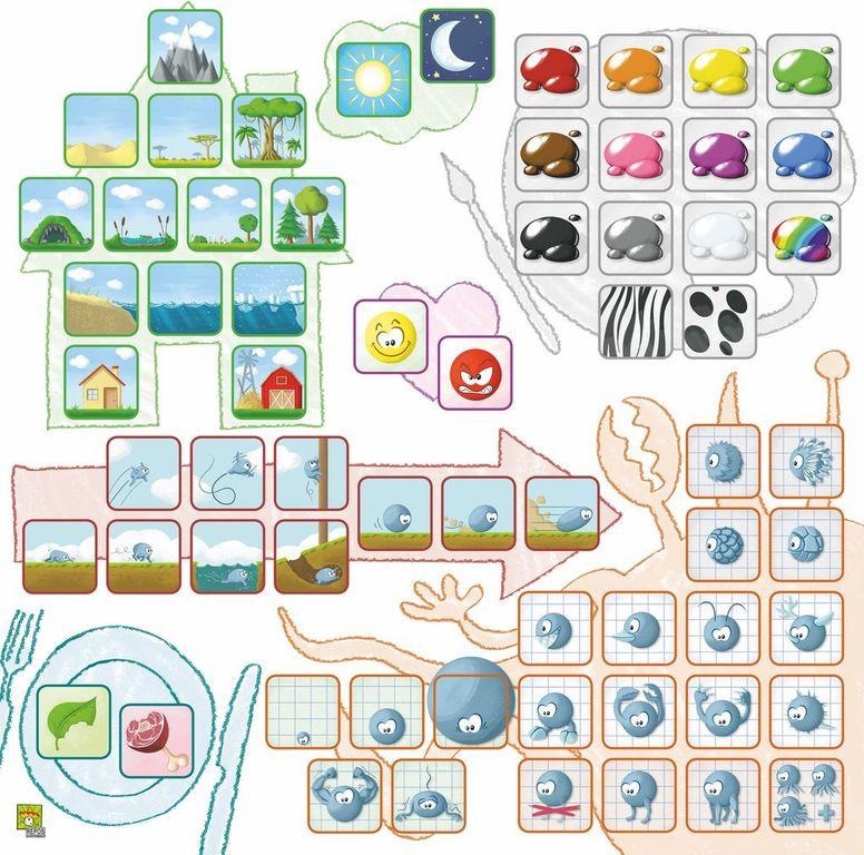 Concept Kids: Animals game board