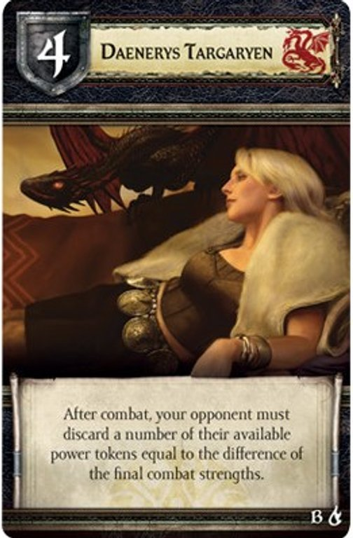 A Game of Thrones: The Board Game (Second Edition) - Mother of Dragons card