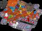 Magic Maze on Mars components