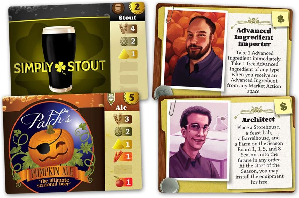 Brew Crafters cards